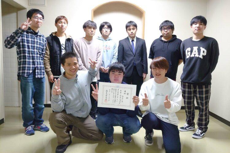 2020年度秋季九州学生将棋大会にて優勝しました