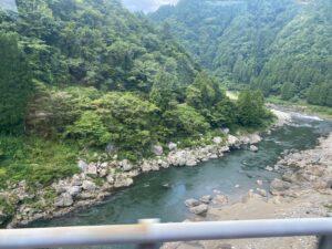 一瞬見えた長良川